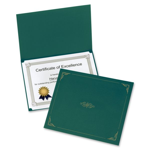Oxford Hunter Green Certificate Holders