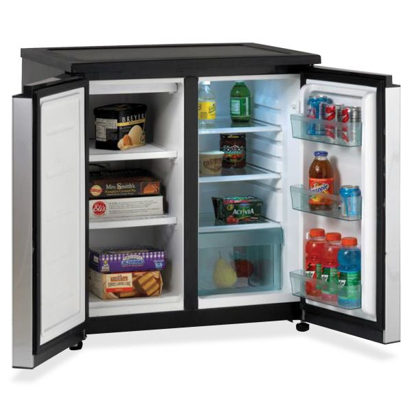 Avanti Side by Side Refrigerator & Freezer