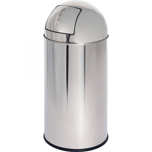 Genuine Joe Classic Round Top 12 Gallon Trash Can
