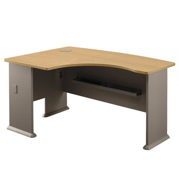 bbf Series A Left L-Bow Office Desk by Bush Furniture