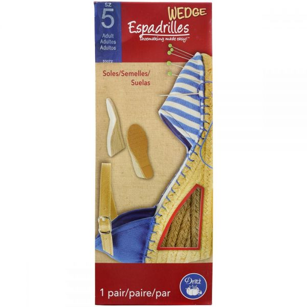 Espadrille Wedges - Adult