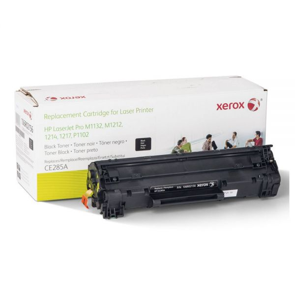 Xerox Remanufactured HP CE285A Black Toner Cartridge