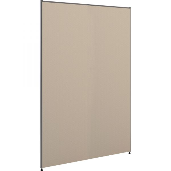 HON Versé Office Panel, 48w x 72h, Gray