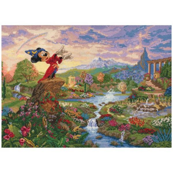 MCG Textiles Disney Dreams Collection By Thomas Kinkade Fantasia
