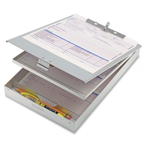 OIC Aluminum Double-Storage Clipboard