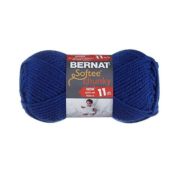 Bernat Softee Chunky Yarn - Royal Blue