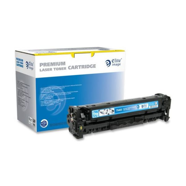Elite Image Remanufactured HP CC531A Toner Cartridge