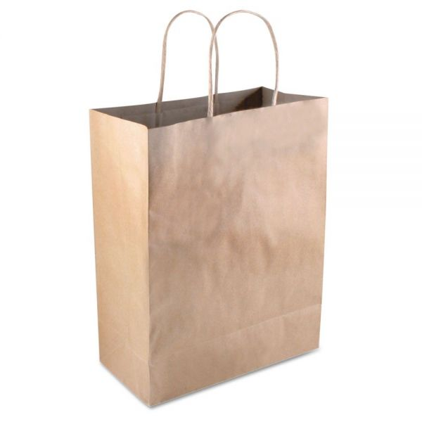 COSCO Premium Brown Paper Shopping Bags with Handles