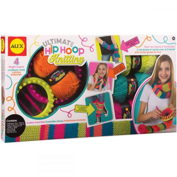 Ultimate Hip Hoop Knitting Kit