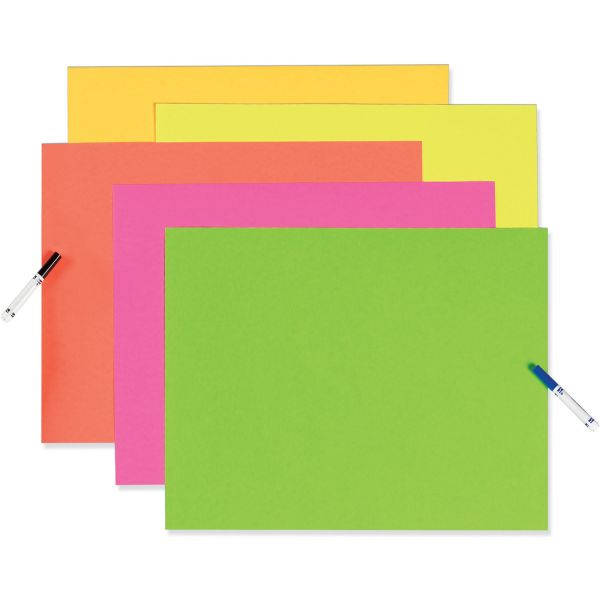 Pacon Fade Resistant Neon Poster Board