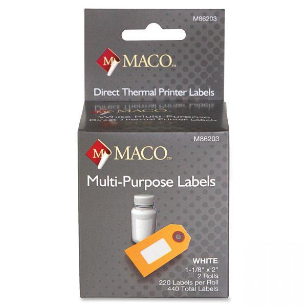 Maco Multipurpose Direct Thermal Printer Labels