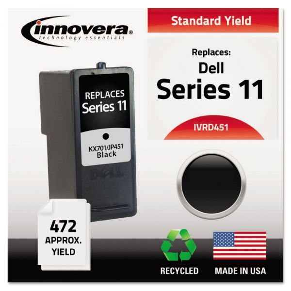 Innovera Remanufactured KX701 (Series 11) High-Yield Ink, Black