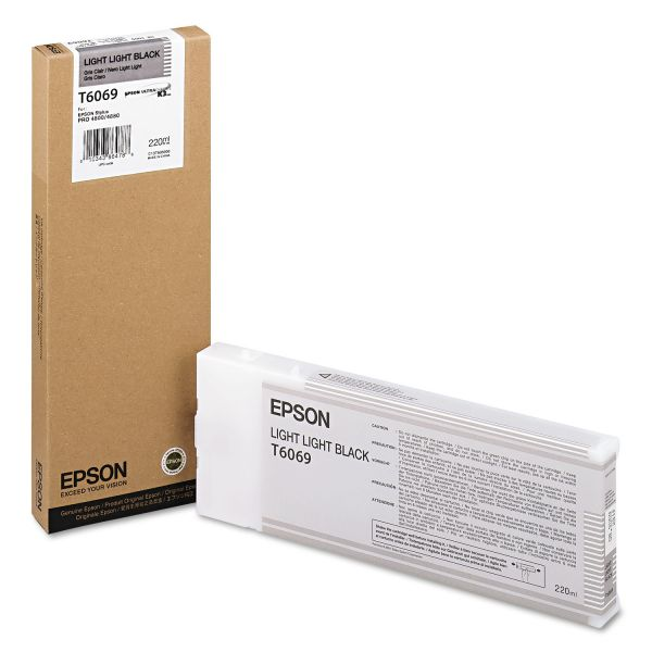 Epson T6069 Light Light Black Ink Cartridge