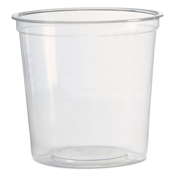 WNA Deli Containers, 1-Comp, Clear, 24 oz