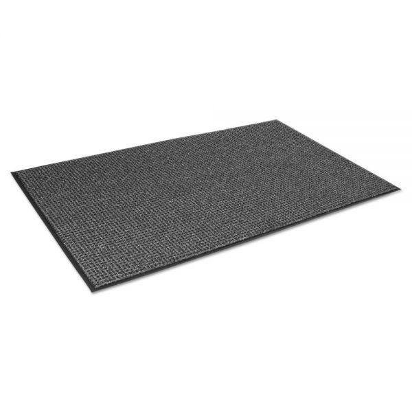 Crown Oxford Elite Wiper/Scraper Mat, 36 x 120, Black/Gray