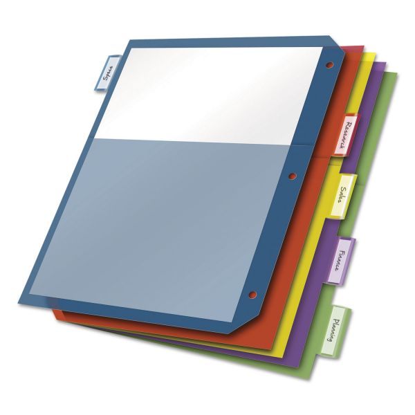 Cardinal 2-Pocket Index Dividers