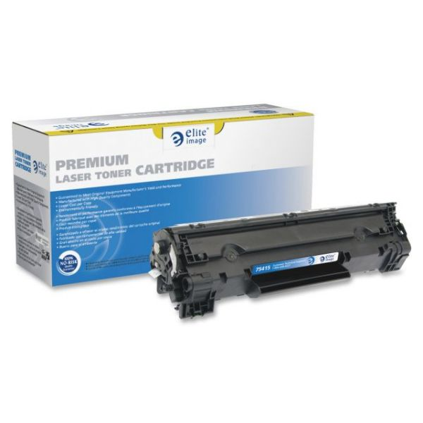 Elite Image Remanufactured HP CB435A Toner Cartridge