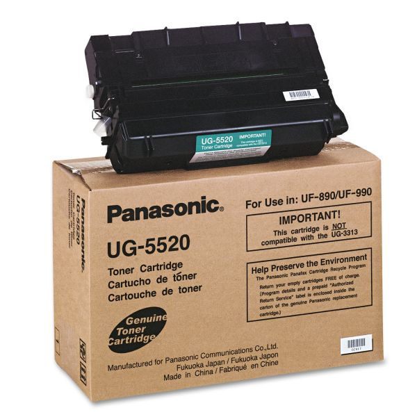 Panasonic UG5520 Black Toner Cartridge