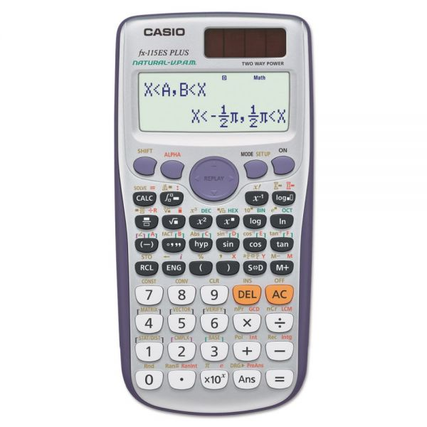 Casio FX-115ESPLUS Advanced Scientific Calculator