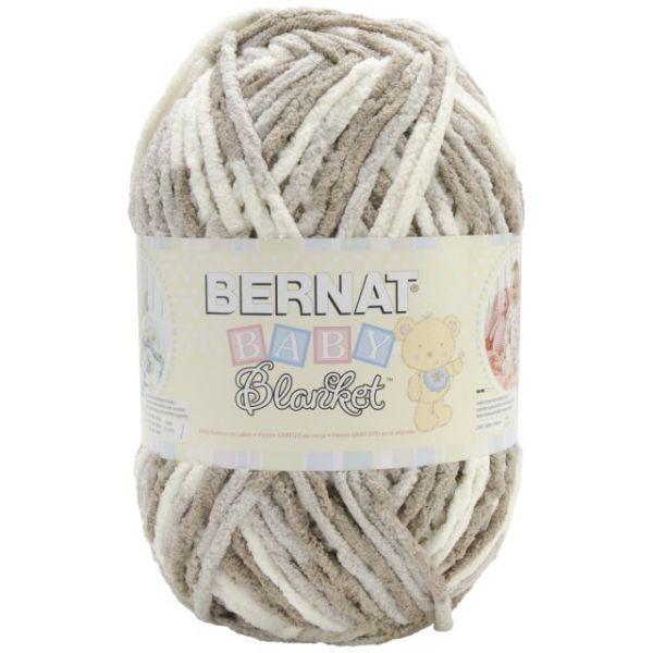 Bernat Baby Blanket Big Ball Yarn - Little Sandcastles