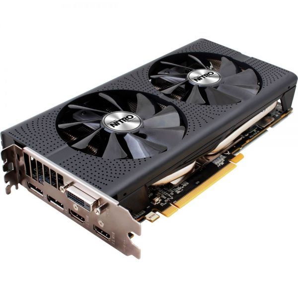 Sapphire NITRO+ Radeon RX 480 Graphic Card - 1.21 GHz Core - 1.31 GHz Boost Clock - 8 GB GDDR5 - PCI Express 3.0 - Dual Slot Space Required