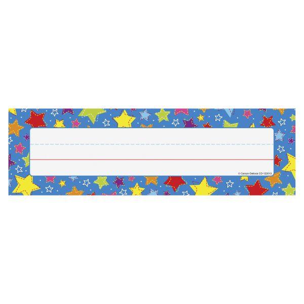 Carson-Dellosa Stars Desk Name Plates