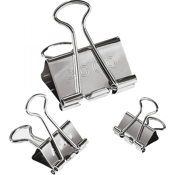 Acco Steel Presentation Binder Clips