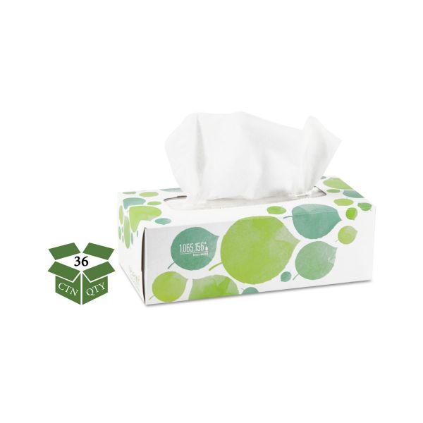 Seventh Generation 100% Recycled Facial Tissue, 2-Ply, 175/Box, 36/Carton