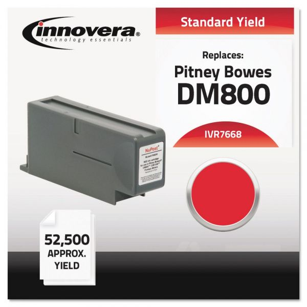 Innovera Compatible 766-8 Postage Meter Ink, Red