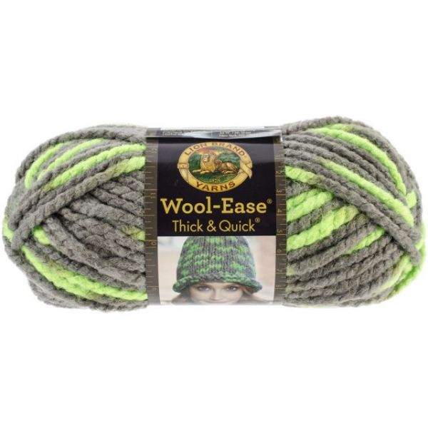 Lion Brand Wool-Ease Thick & Quick Yarn - Parakeet