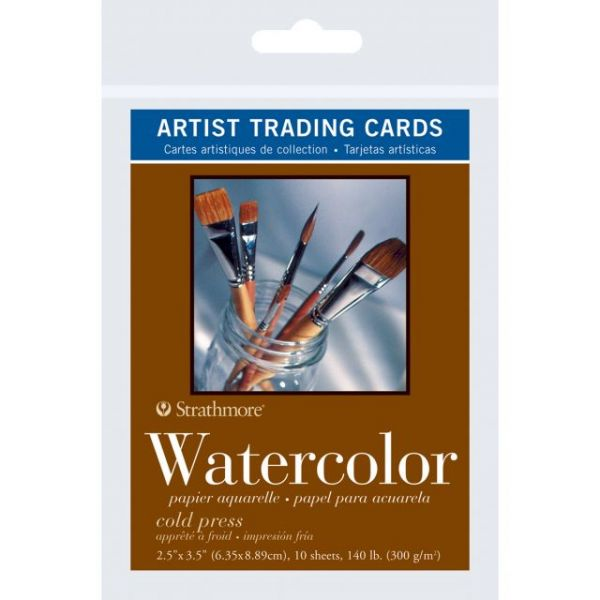 Strathmore Artist Acid Free Trading Cards Watercolor Paper
