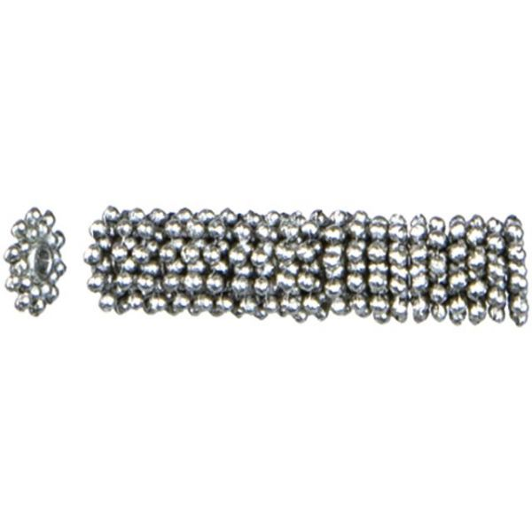 Jewelry Basics Metal Beads 8mm 45/Pkg