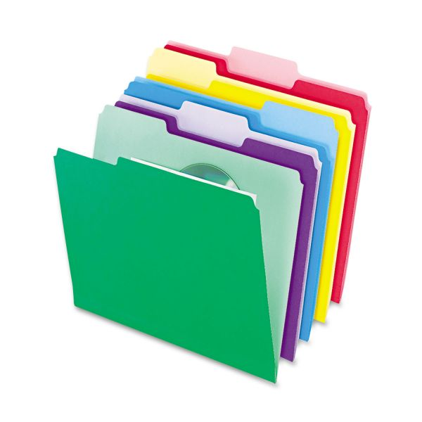 Pendaflex Colord File Folders With Infopocket