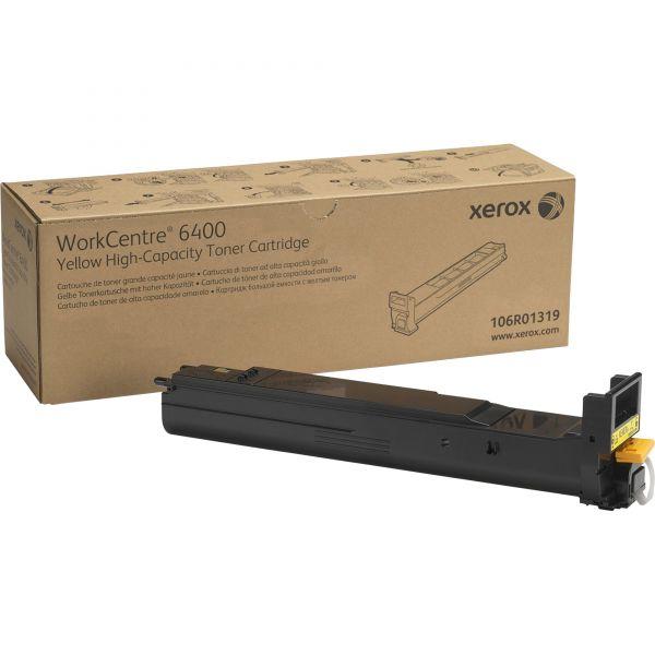 Xerox 106R01319 High-Yield Toner, 14000 Page-Yield, Yellow