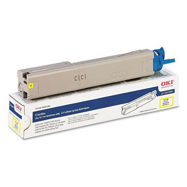 Oki 43459301 Yellow High Yield Toner Cartridge