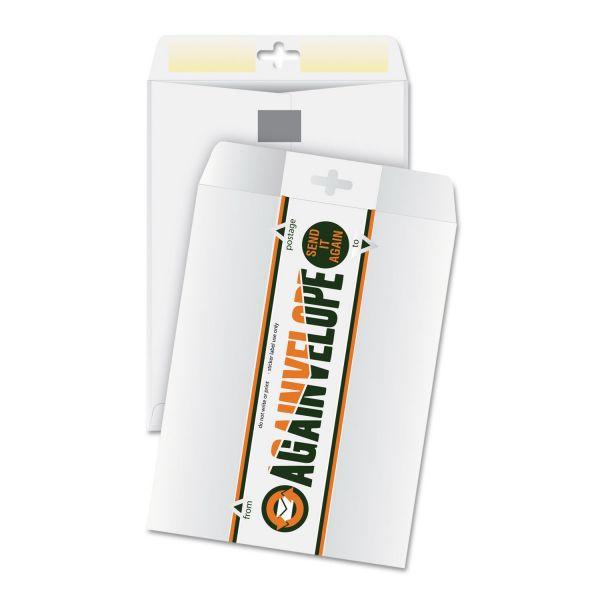 """Quality Park Againvelope Reusable 9"""" x 12"""" Catalog Envelopes"""