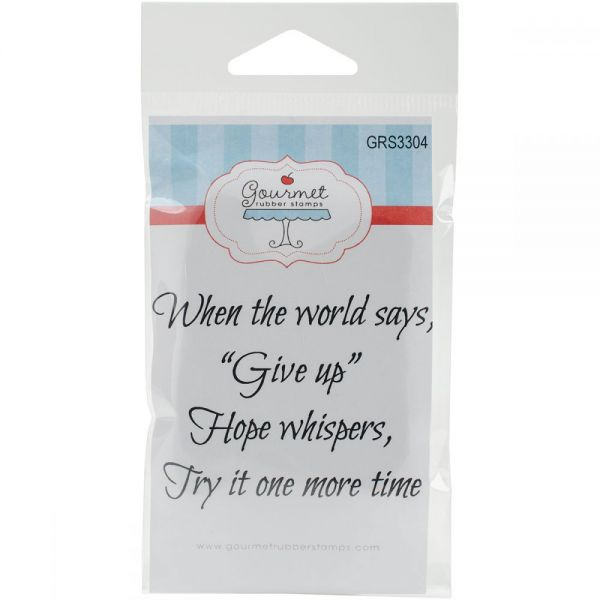 "Gourmet Rubber Stamps Cling Stamps 2.75""X4.75"""