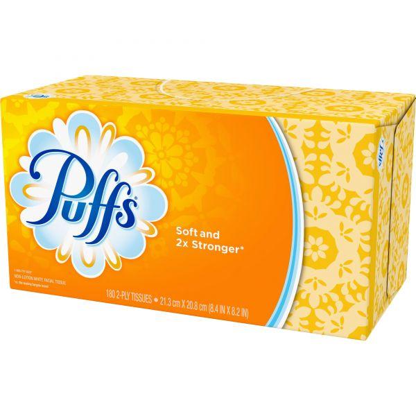 Puffs Basic 1-Ply Facial Tissues
