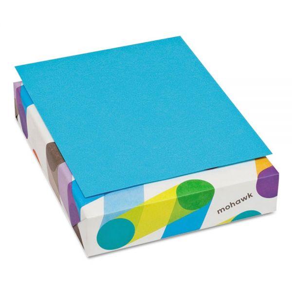 Mohawk Brite-Hue Colored Paper - Blue