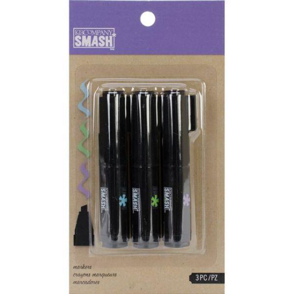SMASH Markers 3/Pkg