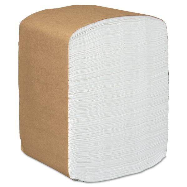 Scott Full-Fold Dispenser Napkins, 1-Ply, 12 x 17, White, 250/Pack, 24 Packs/Carton