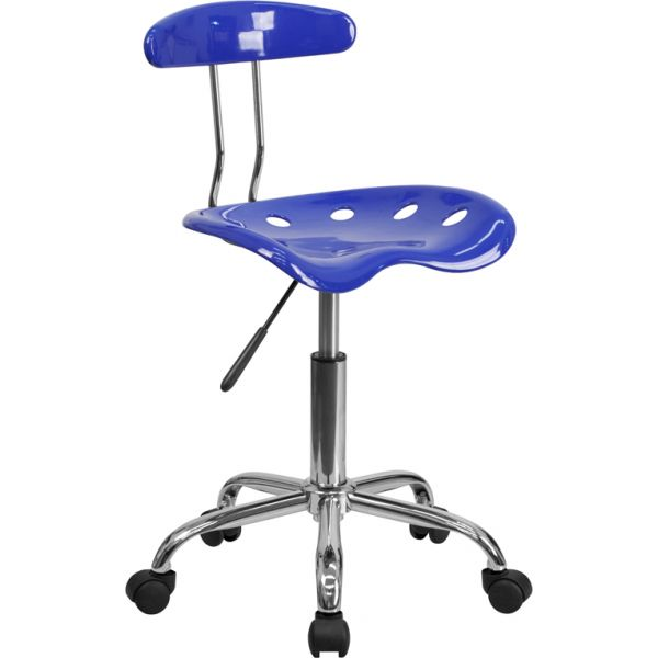 Flash Furniture Vibrant Task Chair with Tractor Seat