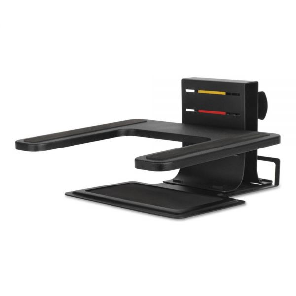 "Kensington Adjustable Laptop Stand, 10"" x 12 1/2"" x 3"" - 7""h, Black"