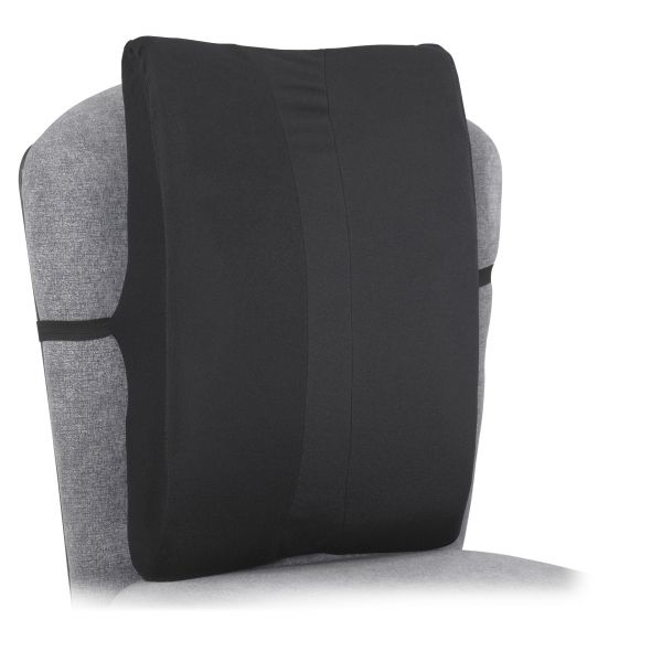 Safco Remedease Full Height Backrest, 14 x 3 x 20, Black
