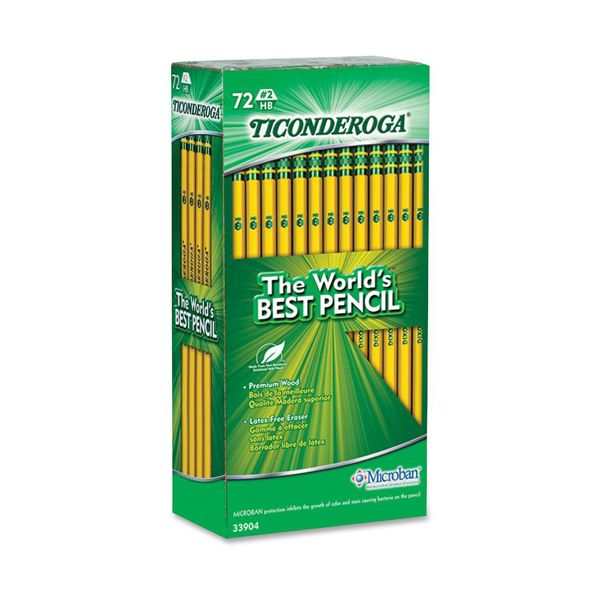 Ticonderoga No. 2 Woodcase Pencils