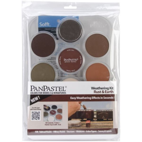 PanPastel Ultra Soft Artist Pastel Set 9ml 7/Pkg