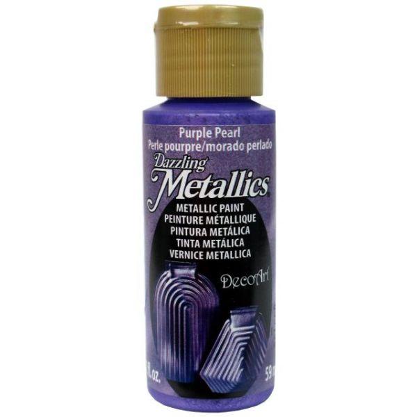 Deco Art Purple Pearl Dazzling Metallics Acrylic Paint