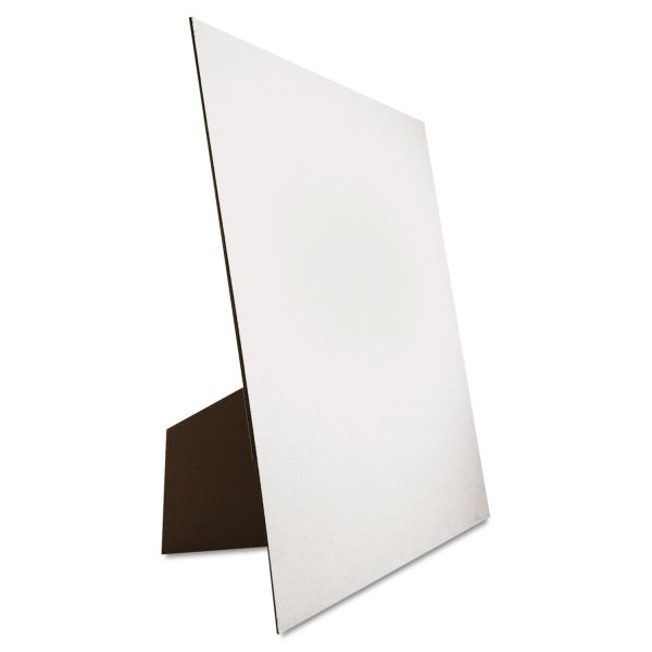 Eco Brites Easel Backed Board, 22x28, White, 1/each