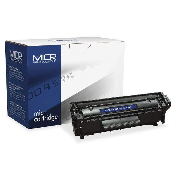 MICR Print Solutions Remanufactured HP Q2612A Black Toner Cartridge