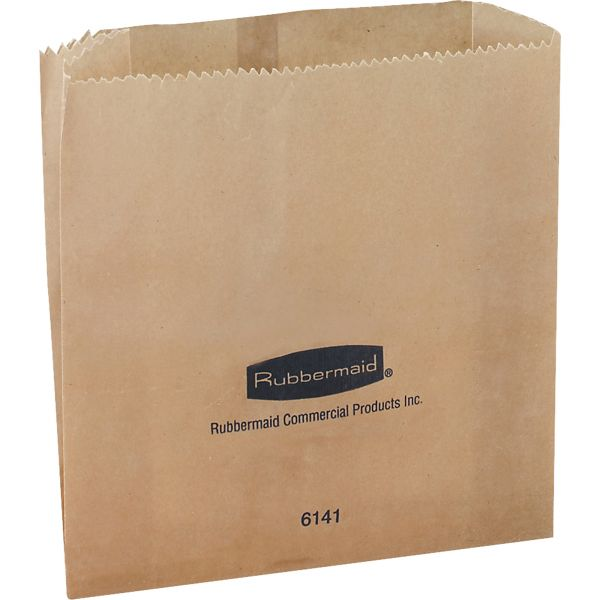 Rubbermaid Commercial Waxed Receptacle Bags
